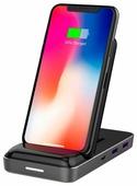 Док-станция для телефона HyperDrive 7.5W Qi Wireless Charger & USB-C Hub