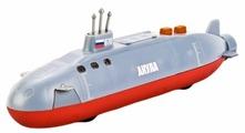 Подводная лодка ТЕХНОПАРК Акула со светом и звуком (SB-16-97-A-WB) 20 см