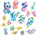 Игровой набор Onoies дополнительные шарики и аксессуары Fantasy Friends Theme Pack