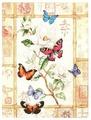 Dimensions Набор для вышивания крестиком Сверкающая бабочка 20 х 46 см (35063)