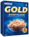 Готовый завтрак Nestle Gold Snow Flakes хлопья, коробка