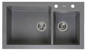 Врезная кухонная мойка Reginox Amsterdam 25 85х49см искусственный гранит
