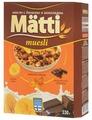 Мюсли Matti хлопья и шарики с бананом и шоколадом, коробка