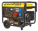 Бензиновый генератор CHAMPION GG7501E-3 (6000 Вт)