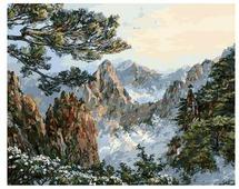 "Белоснежка Картина по номерам ""Китай. Хуаншань"" 40х50 см (196-AB)"