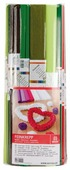 Цветная бумага крепированная в рулоне Ассорти Werola, 50х250 см, 20 л., 10 цв.
