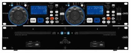 DJ CD-проигрыватель IMG Stageline CD-230USB