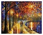 "Белоснежка Картина по номерам ""Пара у озера"" 40х50 см (022-AB)"