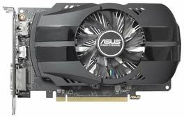 Видеокарта ASUS Radeon RX 550 1071MHz PCI-E 3.0 4096MB 7000MHz 128 bit DVI HDMI HDCP Phoenix