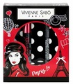 Vivienne Sabo Набор: Тушь для ресниц Mon general тон 1, карандаш для глаз Regard Сoquet тон 301