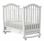 Детская кровать Nuovita Perla dondolo Bianco / Белый