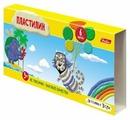 Пластилин Hatber Летающие звери 6 цветов (KPn_06882)