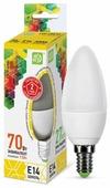 Лампа светодиодная ASD LED-СВЕЧА-STD 3000K, E14, C37, 7.5Вт