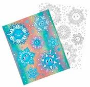 Наклейка интерьерная Феникс Present Веселые снежинки 30 x 38 см