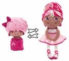 Мягкая игрушка 1 TOY Девчушка-вывернушка Катюшка 38 см