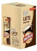 Растворимый кофе Жокей Latte 3 в 1 мягкий, в стиках