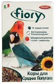 Fiory корм Parrocchetti Africa для средних попугаев