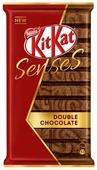 Шоколад KitKat Senses Double Chocolate молочный и темный