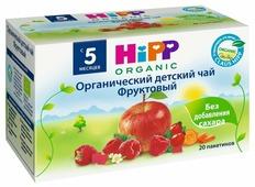 Чай HiPP Фруктовый (пакетированный), с 5 месяцев