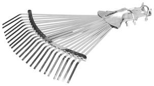 Грабли веерные GRINDA 421873 регулируемые без черенка