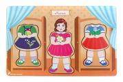 Рамка-вкладыш Мастер игрушек Гардероб Маша (IG0102), 6 дет.