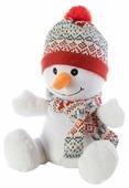 Игрушка-грелка Warmies Снеговик 25 см