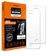 Защитное стекло Spigen GLAS.tR SLIM для iPhone 5s/5c/5/SE