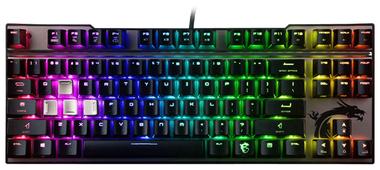 Клавиатура MSI Vigor GK-70 Black USB
