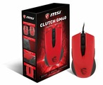 Мышь MSI Clutch GM40 Red GAMING Mouse, USB