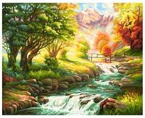 "Schipper Картина по номерам ""Горная река"" 40х50 см (9130412)"