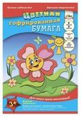 Цветная бумага гофрированная Солнышко Апплика, A4, 8 л., 8 цв.