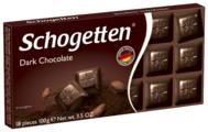 Шоколад Schogetten Dark темный порционный