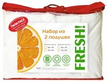 Подушка OLTEX набор Fresh мягкая + упругая (ФКИМ-57-2) 50 х 70 см