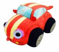 Мягкая игрушка 1 TOY Дразнюка-биби Гоночная машинка 15 см