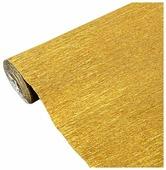 Цветная бумага крепированная металлизированная в рулоне 140 г Cartotecnica Rossi, 50х250 см, 1 л.