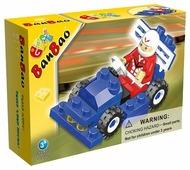 Конструктор BanBao Идеи для подарков 8117 Машина гоночная № 3 Синяя гонка