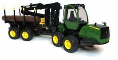 Трактор Bruder John Deere 1210E (02-133) 1:16 64 см