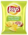 Чипсы Lay's картофельные Белые грибы со сметаной