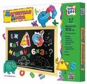 Доска для рисования детская Kribly Boo с деревянной рамкой (3421)