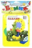 Мягкий конструктор Бомик 306 Павлин