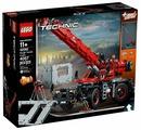 Электромеханический конструктор LEGO Technic 42082 Подъёмный кран для пересечённой местности