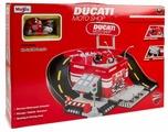 Maisto Ducati Moto Shop (Автомагазин с рампой и мотоцикл) 12176