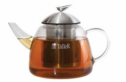 Чайник заварочный Taller TR-1348 1.2л. прозрачный