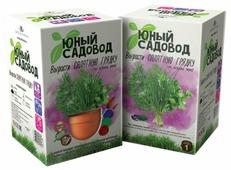 Набор для выращивания Инновации для детей Юный садовод. Вырасти салатную грядку