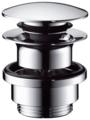 Донный клапан полуавтоматический для раковины hansgrohe 50100000