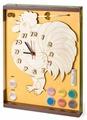 Нескучные игры Набор для росписи Часы с циферблатом Петух (ДНИ121)