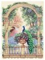 Dimensions Набор для вышивания крестиком Величественный павлин 30 х 41 см (35110)