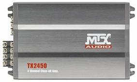 Автомобильный усилитель MTX TX2450