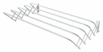 Сушилка для белья Лиана настенная раздвижная 1 м