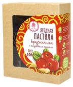 Пастила Сибирский кедр ягодная брусничная с кедровым орехом 100 г